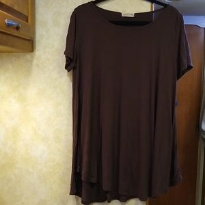 Larace XL short sleeve tunic